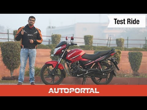New Hero Glamour Test Ride Review - Autoportal