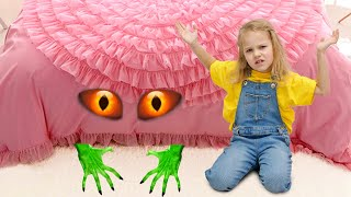Lily and Daisy - The Monster Under the Bed Story!