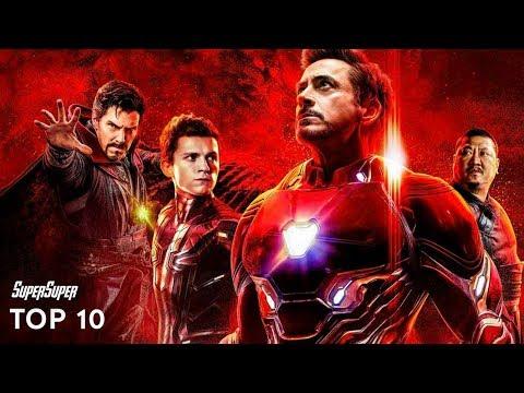Top 10 Best Avengers: Infinity War Movie Moments   SuperSuper