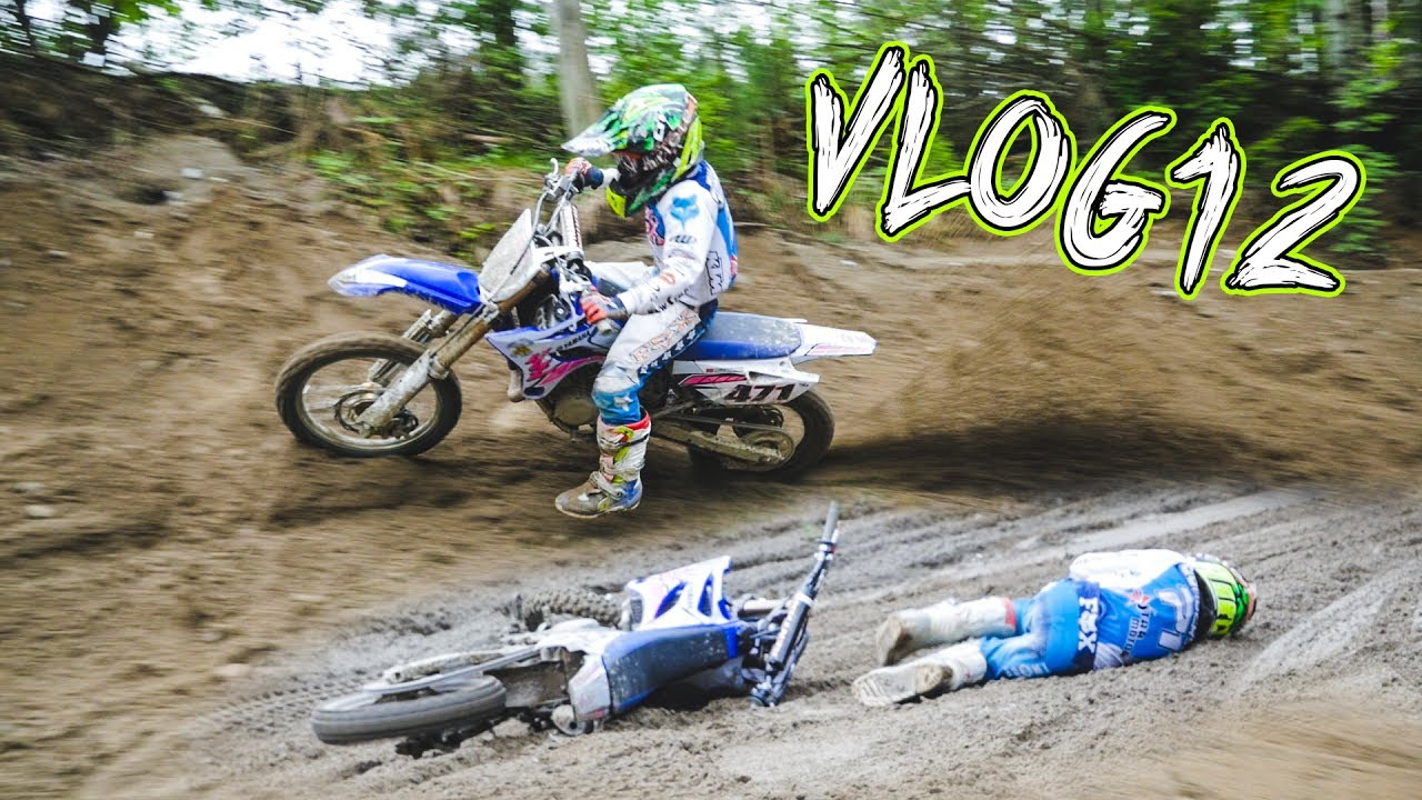 Crazy Fast 8 Year Old Motocross Kid Riding 85ccm Dirtbike Vlog 12