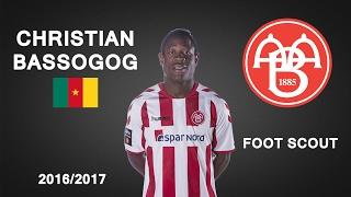 CHRISTIAN BASSOGOG | AaB | Goals, Skills, Assists | 2016/2017 (HD)