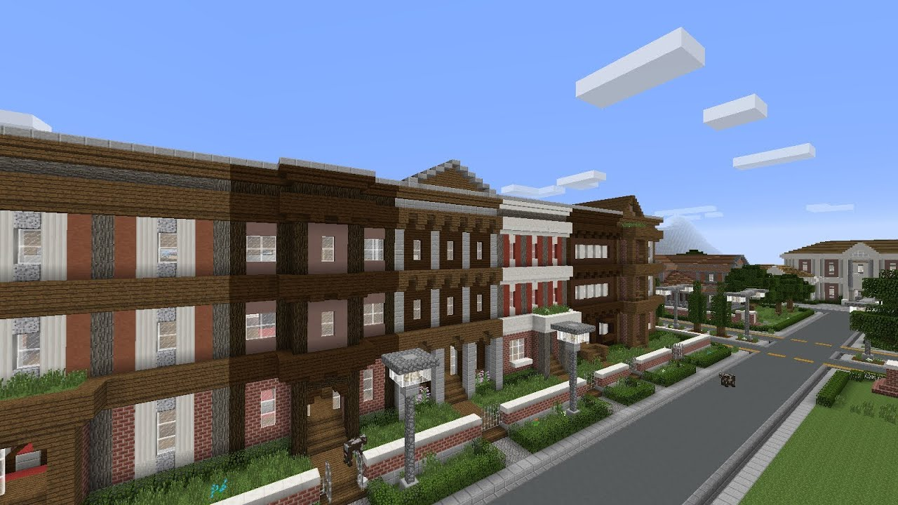 How To Build A Townhouse In Minecraft