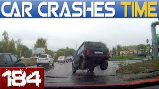 DRIVING FAILS Compilation - MAD DRIVERS & INSTANT KARMA - BEST OF DASHCAMS #184