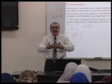 Lecture 23: Electric Field in Matter -1