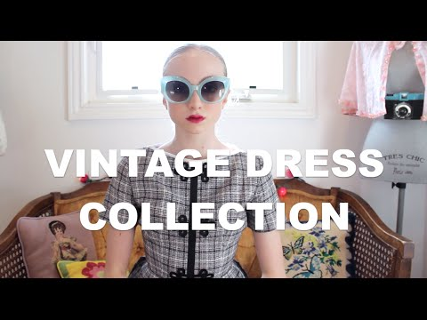 My Vintage Dress Collection | Lucy Vallely