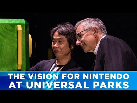 The Vision for Nintendo at Universal Parks