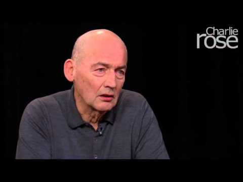 Rem Koolhaas on resisting aesthetic (Jan. 14, 2016) | Charlie Rose