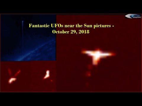 nouvel ordre mondial | Fantastic UFOs near the Sun pictures - October 29, 2018