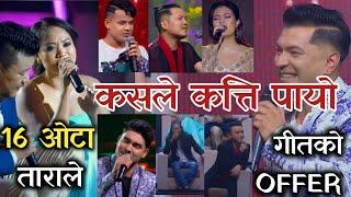 Tara Shreesh ले पायो 16 ओटा गीतको Offer_अरूले कत्ति ? | Voice Of Nepal Season 3 Live Shows - 2021