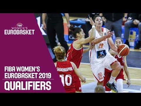 LIVE🔴 - Spain v Bulgaria - FIBA Women's EuroBasket 2019 Qualifiers