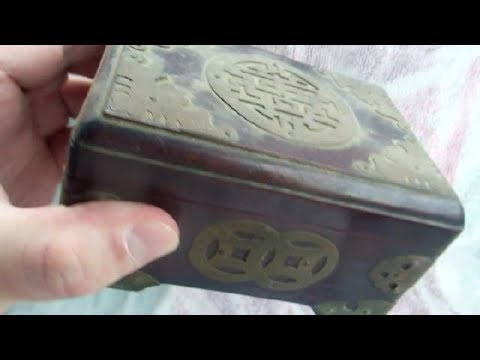 What is in the Old Japanese Treasure Chest??