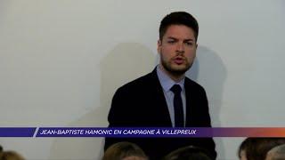 Yvelines | Jean-Baptiste Hamonic en campagne à Villepreux