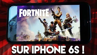 como es fortnite en iphone xs max