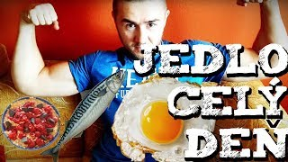 Co som dnes jedol | Jedlo cely den | 3000 KAL | Objemovka | IIFYM | Intermittent fasting |JEDALNICEK
