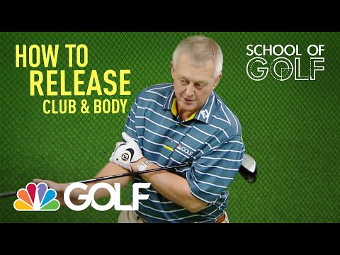 How To Release The Club Body Golf Channel Youtube