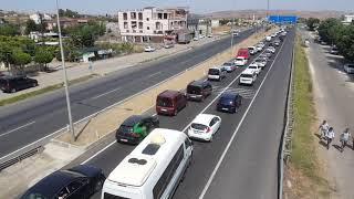 Bayram Trafiği Nedeniyle Tekirdağ Bölge Trafik Ekipleri Yoğun Mesai Harcadı
