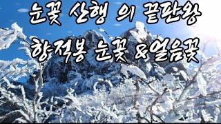덕유산  향적봉눈꽃 상고대2편  눈꽃 &얼음꽃