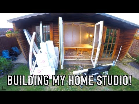 Building My Home Recording Studio
