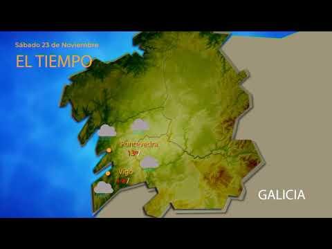 Una borrasca dejará un fin de semana lluvioso en Ourense
