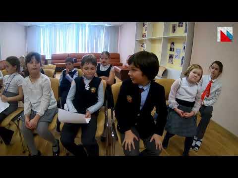 Поздравление от будущих финансистов России/Учащиеся Первой Европейской гимназии Петра Великого