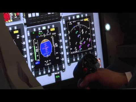Alenia Aermacchi selects Barco for advanced trainer jet simulator
