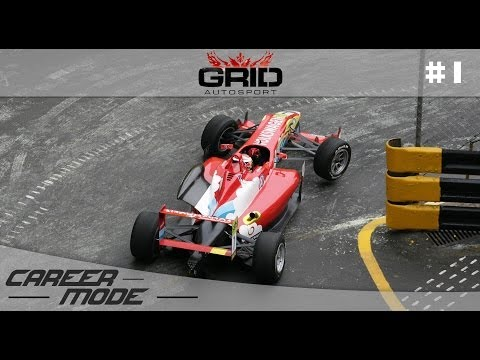 GRID Autosport Gameplay Career Mode - Part 1 Formula C Championship (PC Gameplay Walkthrough)