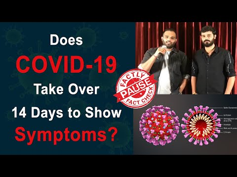 Does COVID-19 Take Over 14 Days to Show Symptoms? | Factly
