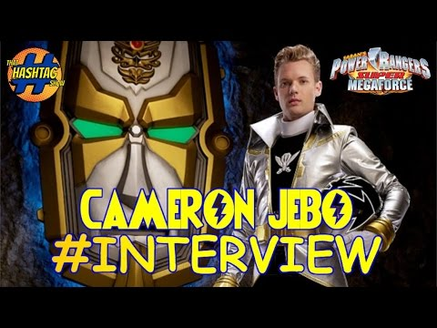 Cameron Jebo (Orion, Silver Super Megaforce Power Ranger) Interview & Fan Questions