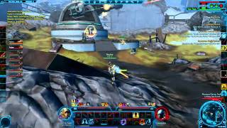 Level 50 Jedi Sentinel (Watchman) - Alderaan Warzone - PvP Gameplay - Sith Warrior Mirror