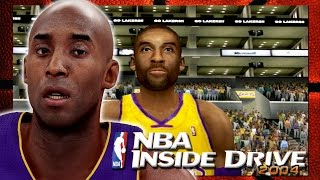 NBA INSIDE DRIVE 2004 HD 2016 INSANE MAMBA GAMEPLAY! | KOBE Goes For 60 | THE SHOWTIME LAKERS!