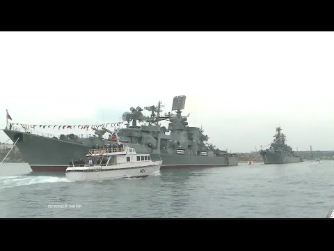 1 HD - Russia Victory Day Parade 2014 : Full Navy & Air Force Military Assets Segment [1080p]