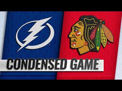 10/21/18 Condensed Game: Lightning @ Blackhawks