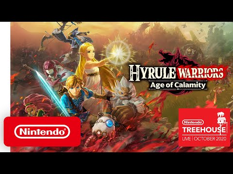 Hyrule Warriors: Age of Calamity - Nintendo Treehouse: Live   October 2020