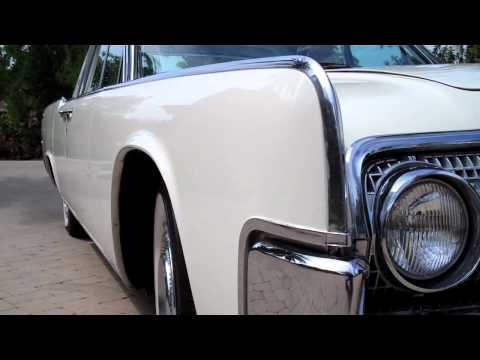 1964 lincoln continental on air bags doovi. Black Bedroom Furniture Sets. Home Design Ideas