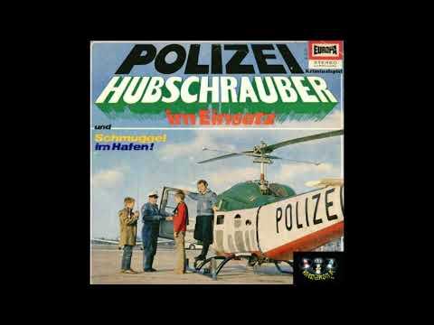 Polizeihubschrauber im Einsatz EUROPA 1967