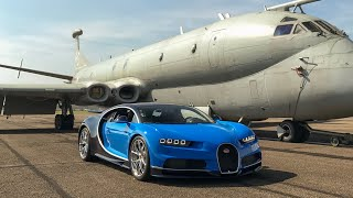Unveiling the first UK Customer Bugatti Chiron with SUPERCARDRIVER and Michelin