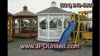 Video 23: Several Gazebos On Display At Jpd United In Farmingdale New York (ny)
