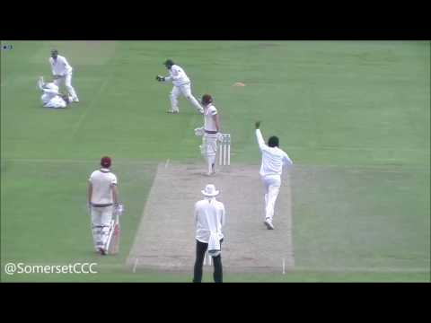 Somerset v Pakistan - Day Two