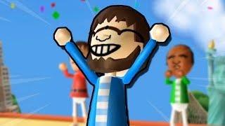 I'm the world champion of Wii Party Globe Trot