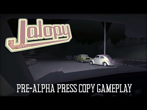 Jalopy Pre-Alpha Gameplay - Abandon Your Uncle on the Road