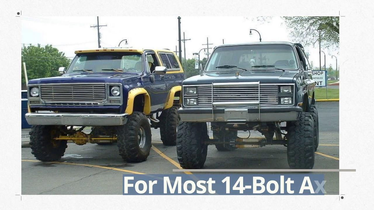 14 Bolt Dually To Single Wheel