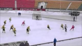 Саяны-Хакасия - СКА-Нефтяник - 6:6. Фрагменты матча