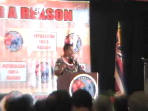 2009 Hawaii Republican State Convention Part 2 of 2