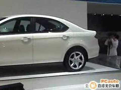 JAC B18 at 2008 beijing auto show Chinese car