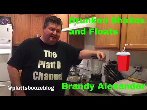 Drunken Shakes And Floats: Brandy Alexander