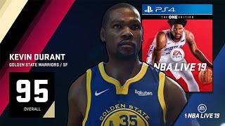 THIS IS WHAT NBA LIVE 19 DOES WITH ITS TOP 5 PLAYERS...