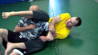 Armbar from back Control