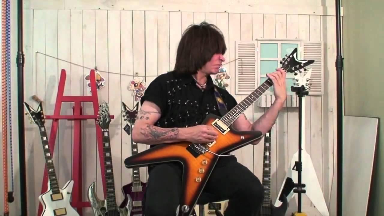 Dean Ml 79 Guitar Review Eguitarzone Youtube