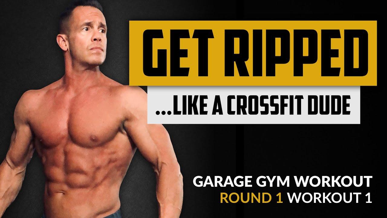 GARAGE GYM WORKOUT - Round 1 - Workout 1