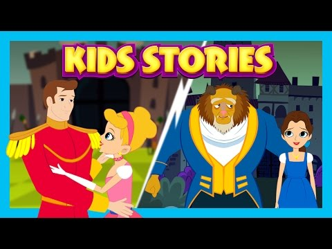 Kids Stories - The Beauty and The Beast, Cinderella And The Frog Prince || Storyteller